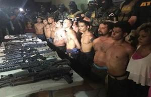 Dieciocho detenidos
