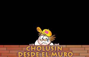 Cholusin llorando