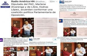 Collage medios Coalicion Politica