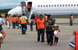 Menores deportados