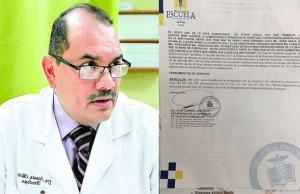 Denis Chirinos suspendido