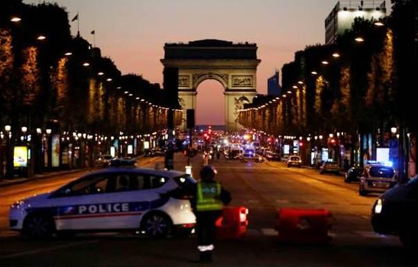 Tiroteo Paris