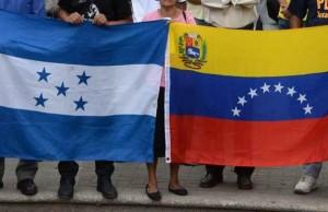 Honduras encargado de negocios Venezuela