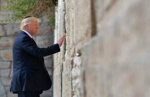 Trump muro de los lamentos