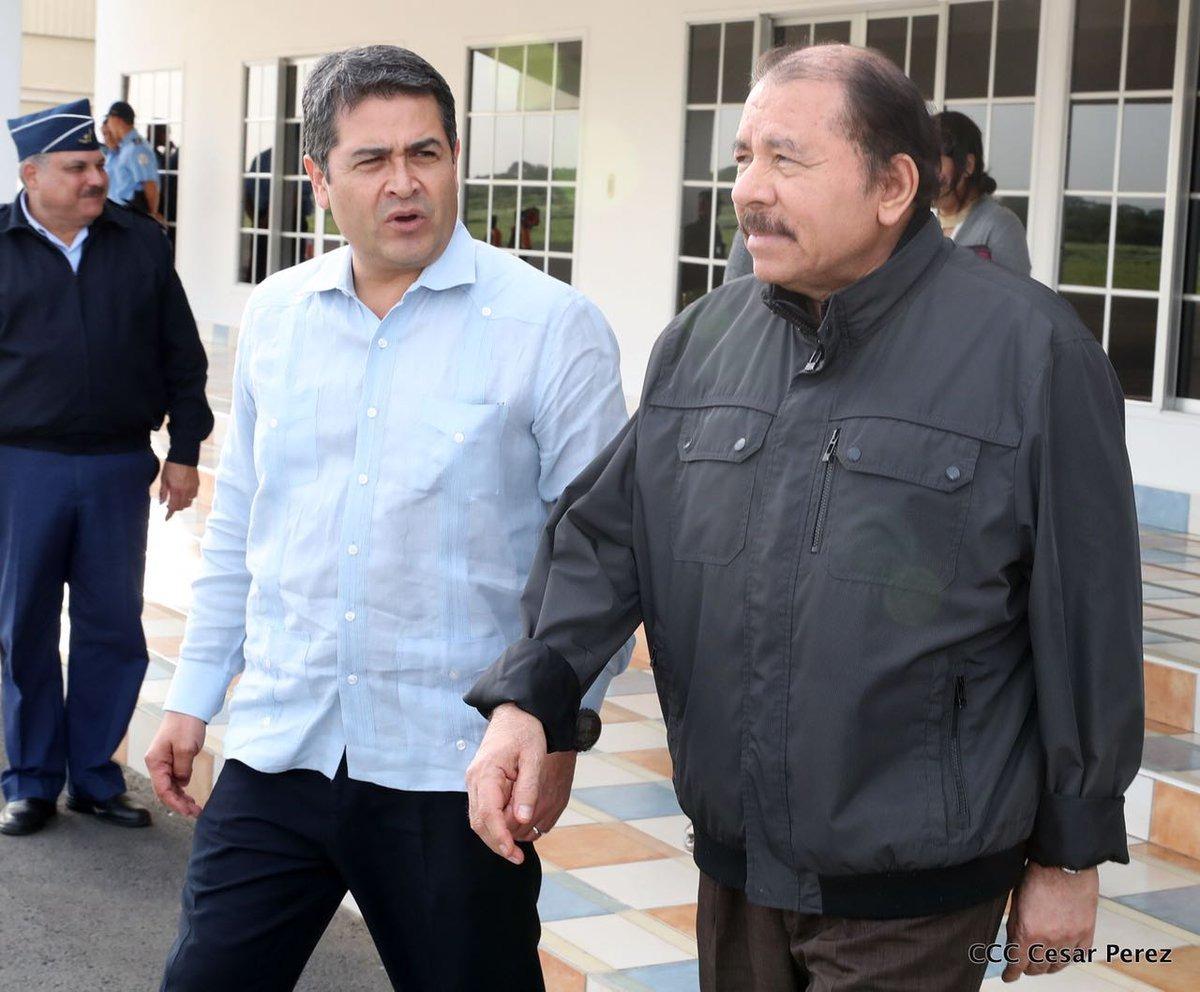 Resultado de imagen para , Juan Orlando Hernández y Daniel Ortega