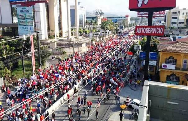 Manifestacion Alianza