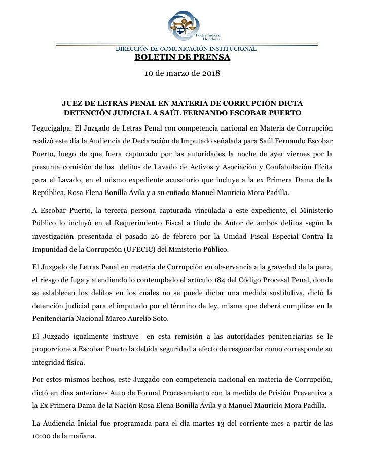 Detencion Saul Escobar