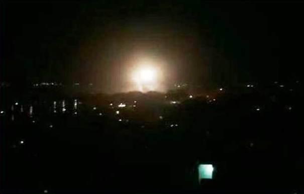 Bombardeo Siria