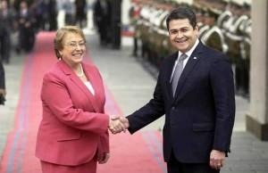 Bachelet y Hernandez