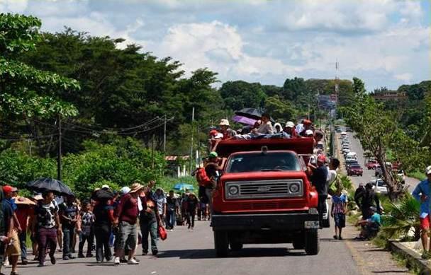 Camion migrante