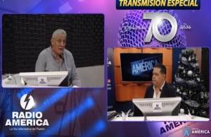 Esdras Amado Lopez en Radio America