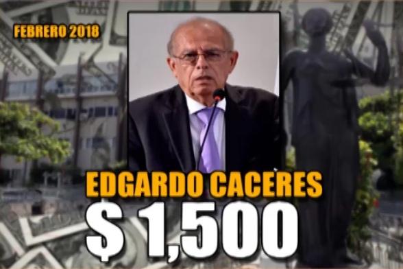 Edgardo Caceres Febrero 2018