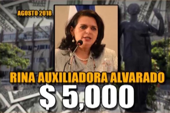 Rina Alvarado Agosto 2018