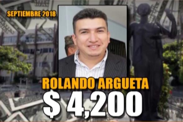 Rolando Argueta Septiembre 2018