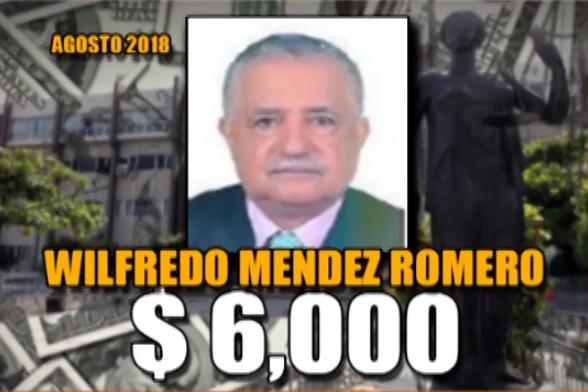Wilfredo Mendez Agosto 2018