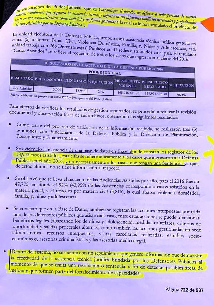 Informe TSC