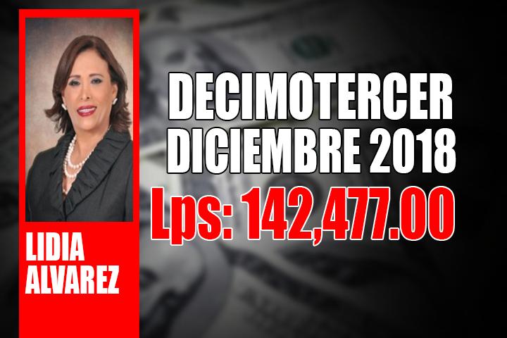 LIDIA ALVAREZ DECIMOTERCER 003