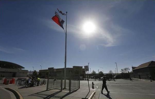 Frontera Estados Unidos y Mexico