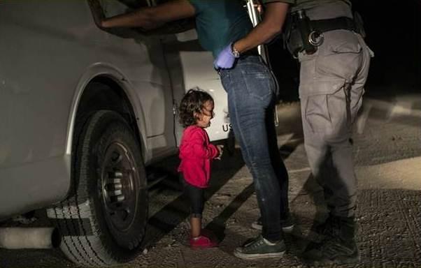 Hondurena migrante