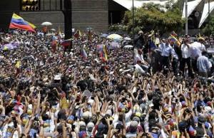 Manifestacions Venezuela
