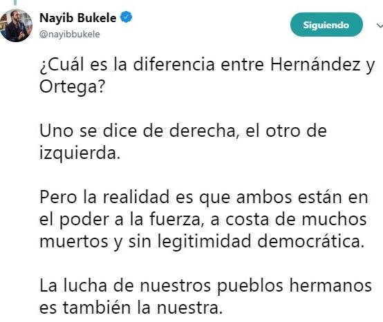 Twitter Bukele 2