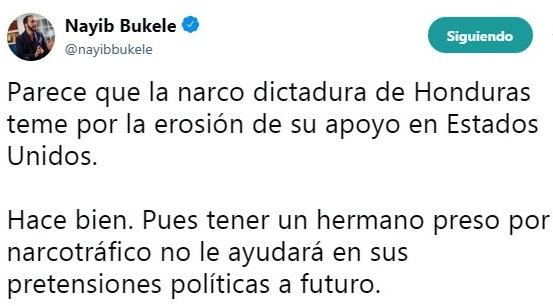 Twitter Bukele