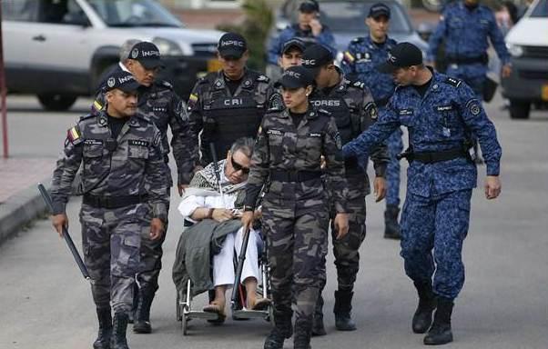 Detencion las FARC