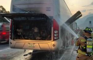 Incendio bus migrantes