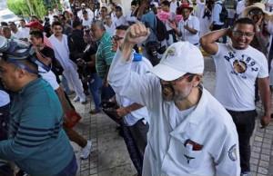 Protesta medicos