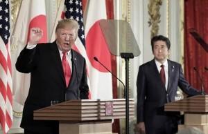 Trump en Japon