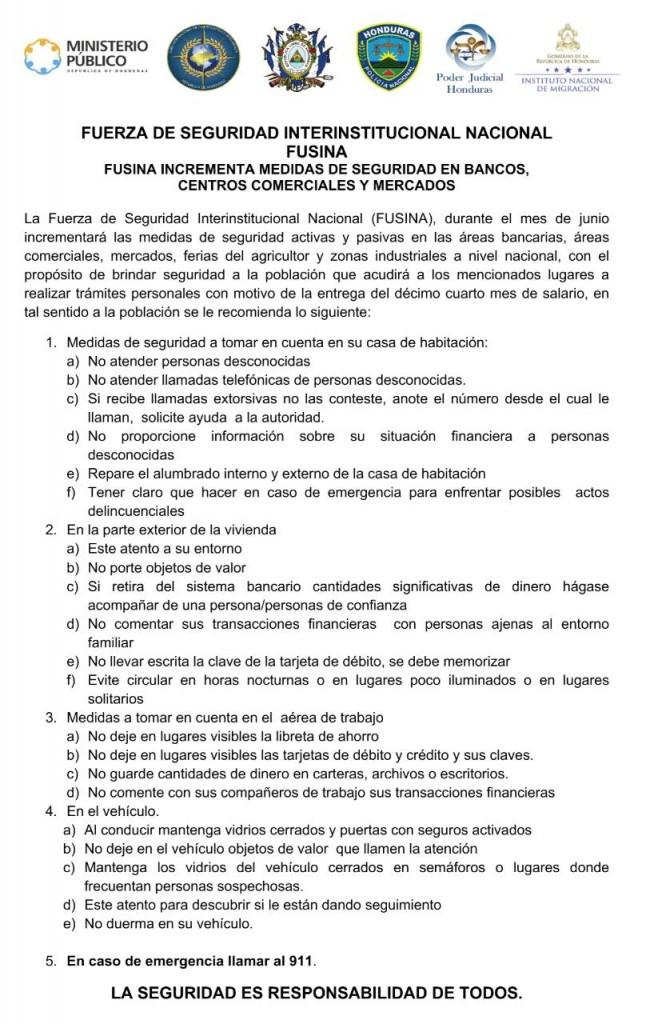 Comunicado Operacion Decimocuarto Salario
