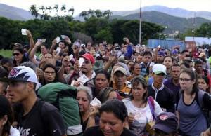 Cruce de Venezuela a Colombia