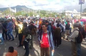 Protesta plataforma