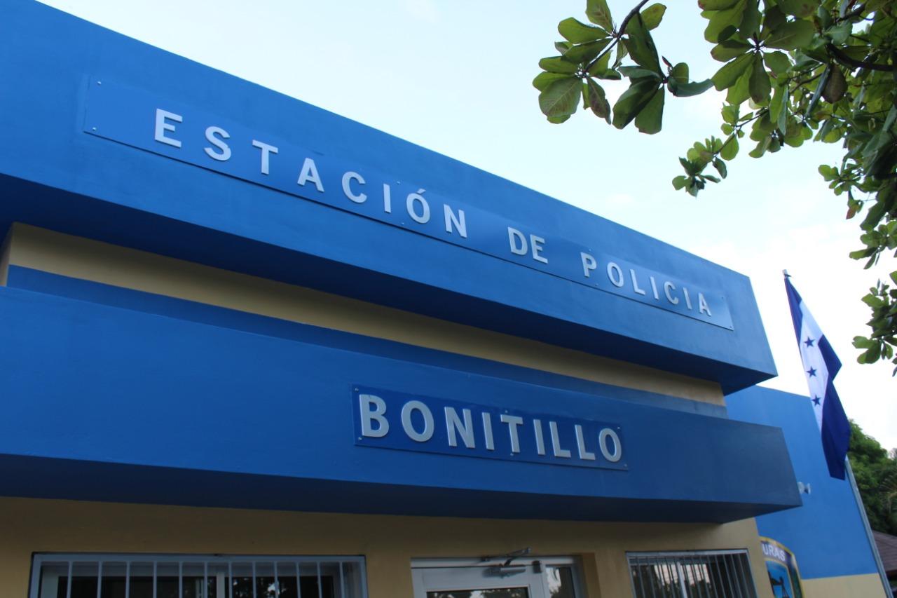 GOBIERNO INAUGURA MODERNA ESTACIÓN POLICIAL EN BONITILLO, LA CEIBA - cholusatsur.com